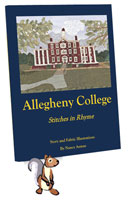 Allegheny College - Stitches in Rhyme, a children's book, cover image