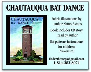 chautauque bat dance, a children's book, image